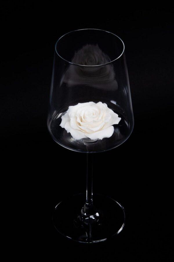 винный бокал из фарфора