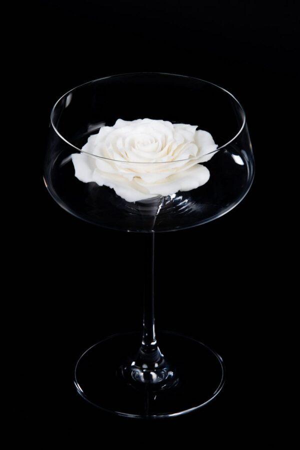 бокал для шампанского ручной работы