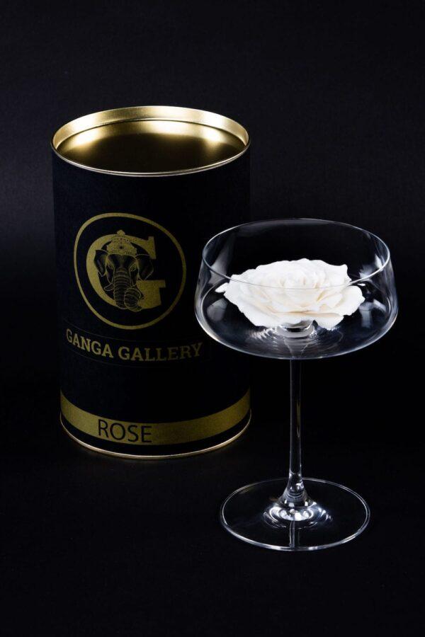 бокал для шампанского из английского фарфора